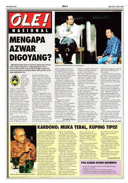 SEPAKBOLA NASIONAL INDONESIA BERITA AZWAR ANAS