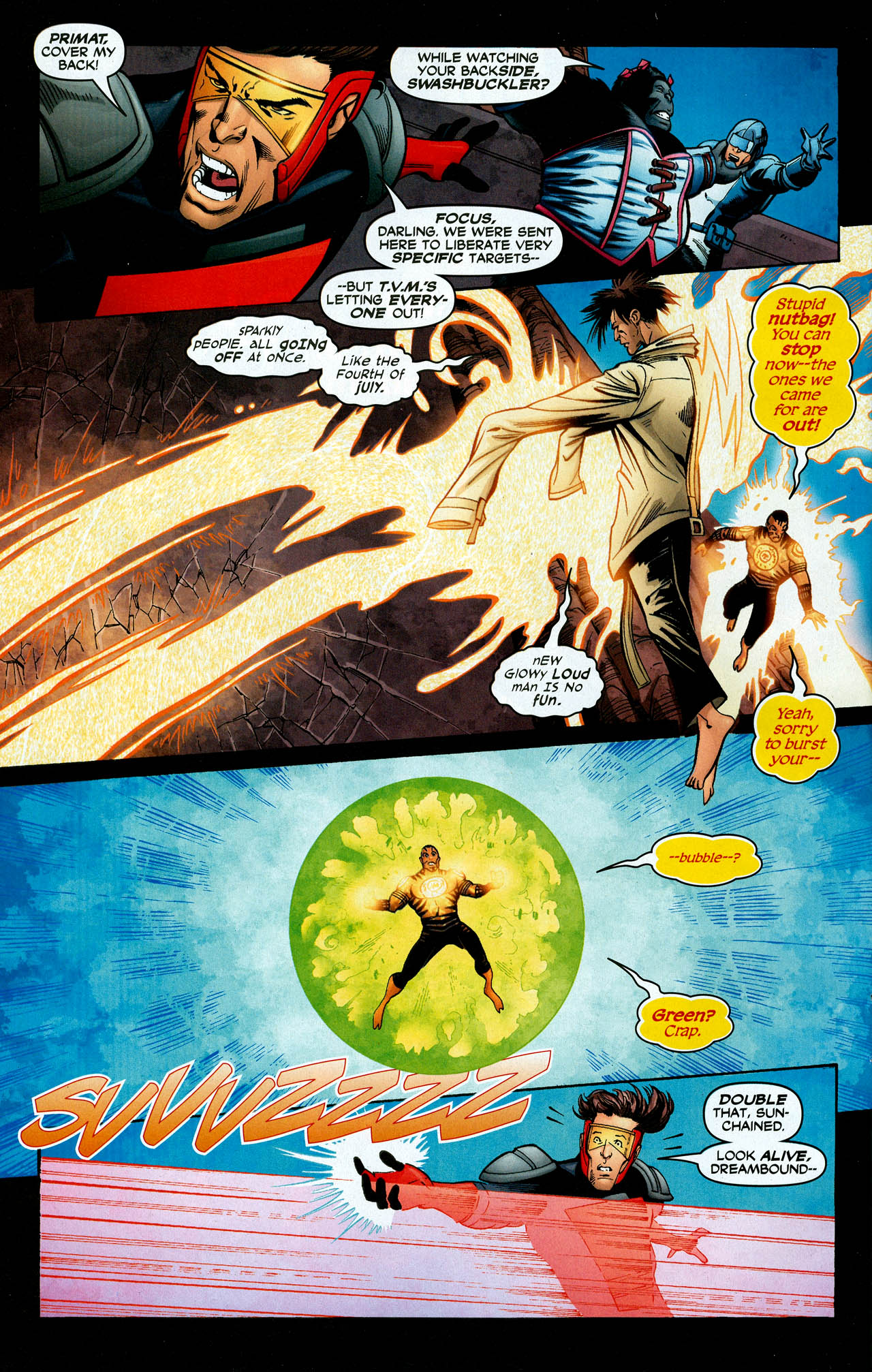 Read online Trinity (2008) comic -  Issue #28 - 22