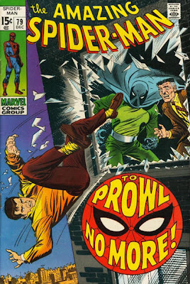 Amazing Spider-Man #79, the first appearance and origin of the Prowler