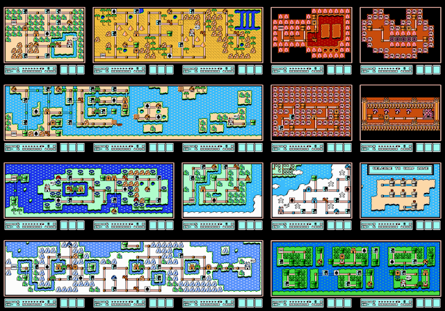 Mapa Mario Bros 3