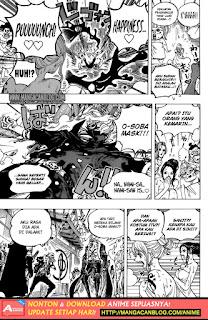 Komik One Piece 936 Indonesia : Turnamen Besar Inferno Sumo