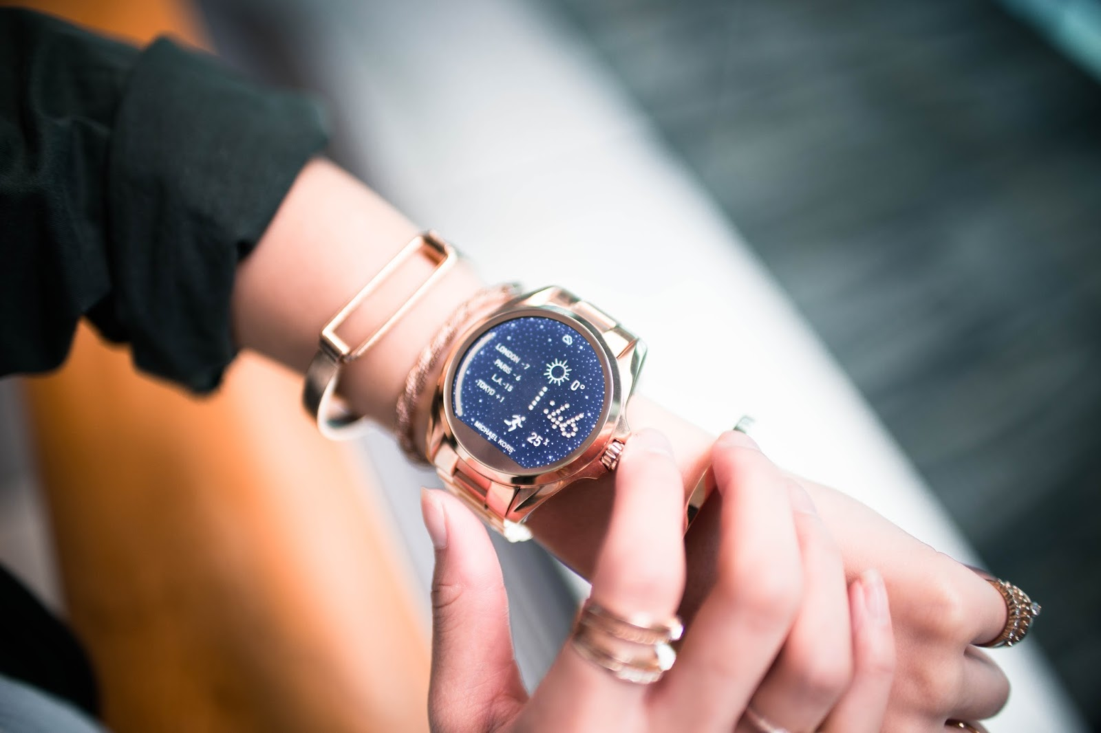 travel, smartwatch, michael kors, access, different time zones, automatic, review