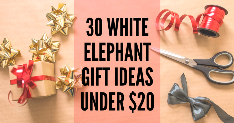 30 white elephant gift ideas under 25 ineed a playdate. Black Bedroom Furniture Sets. Home Design Ideas