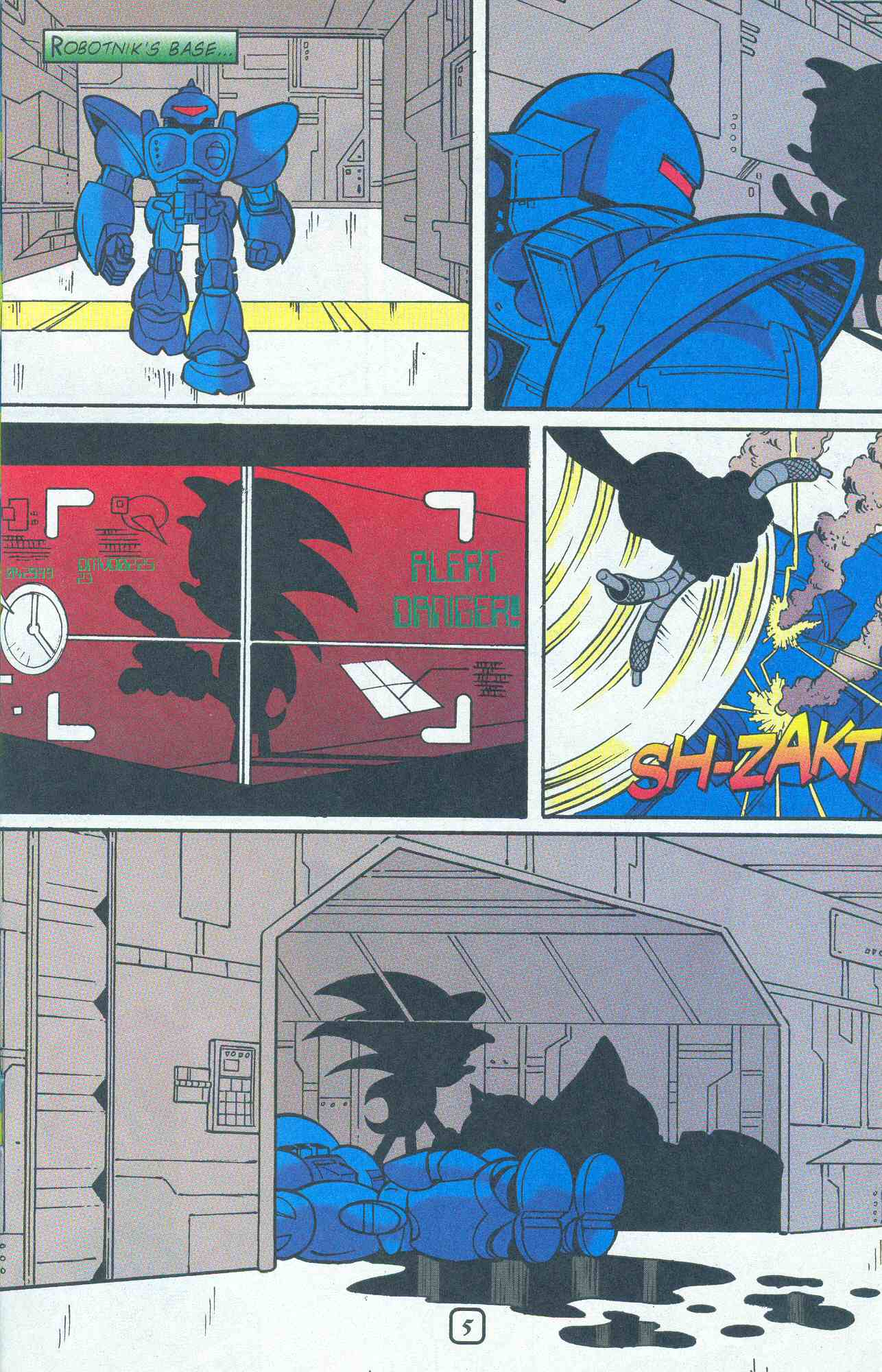 Read online Sonic The Hedgehog comic -  Issue #96 - 6