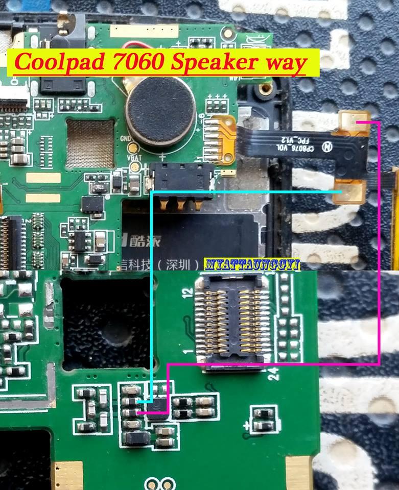 Coolpad 7060 Jumper way