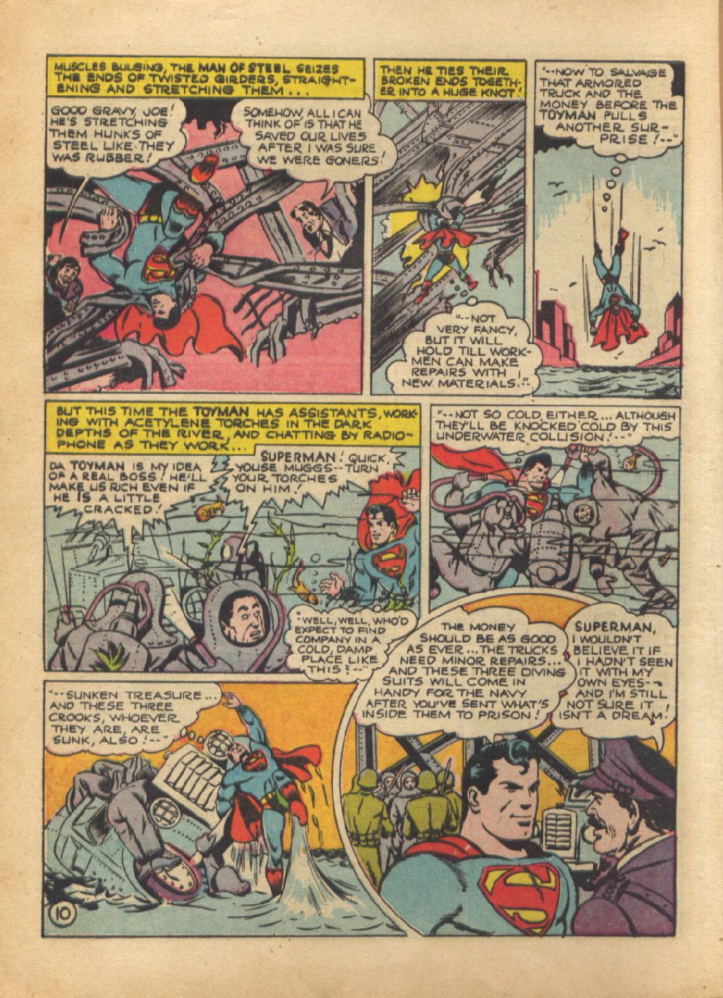 Read online Action Comics (1938) comic -  Issue #64 - 12