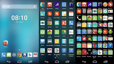 Aplikasi Launcher Tema Android