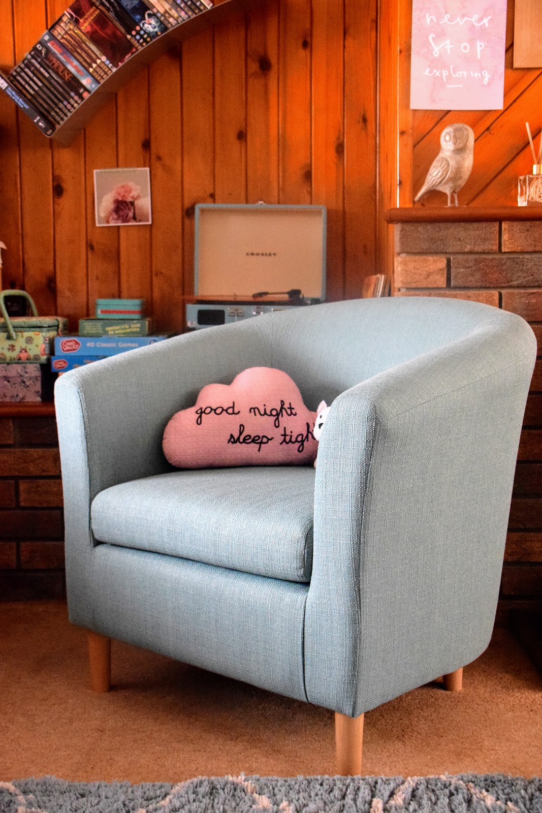 , Home:  A Classic Retro Tub Chair