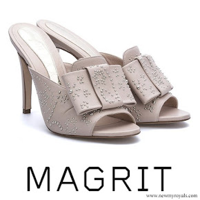 Queen Letizia wore MAGRIT Adela sandals