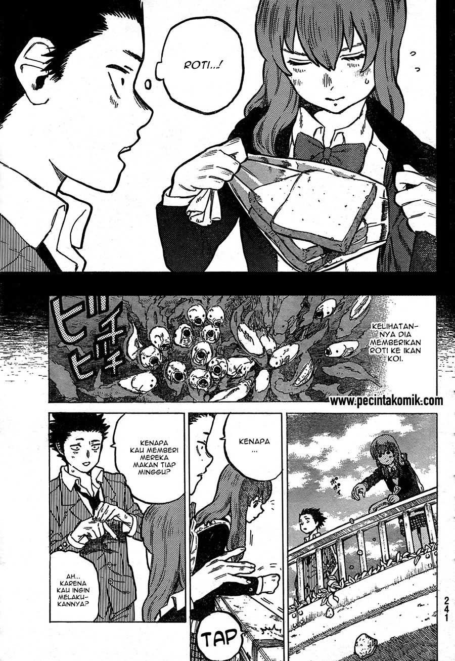 Koe no Katachi Chapter 07-5