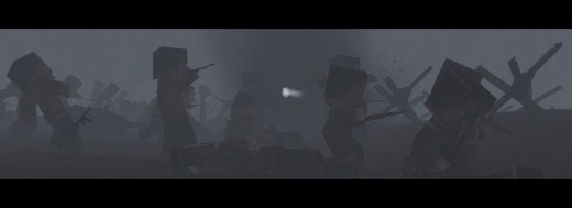 Arma3にマインクラフトのキャラクターを登場させるMOD