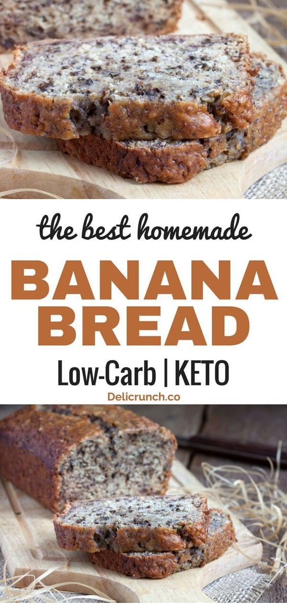 The Best Low Carb Banana Bread (Keto-Friendly)