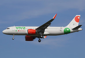 1st A320neo for Viva Aerobus