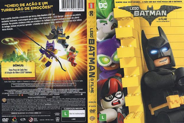 Capa DVD Lego Batman O Filme