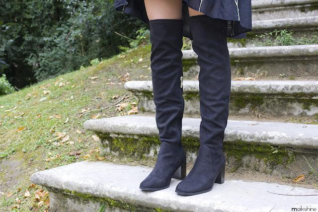 OTK boots details