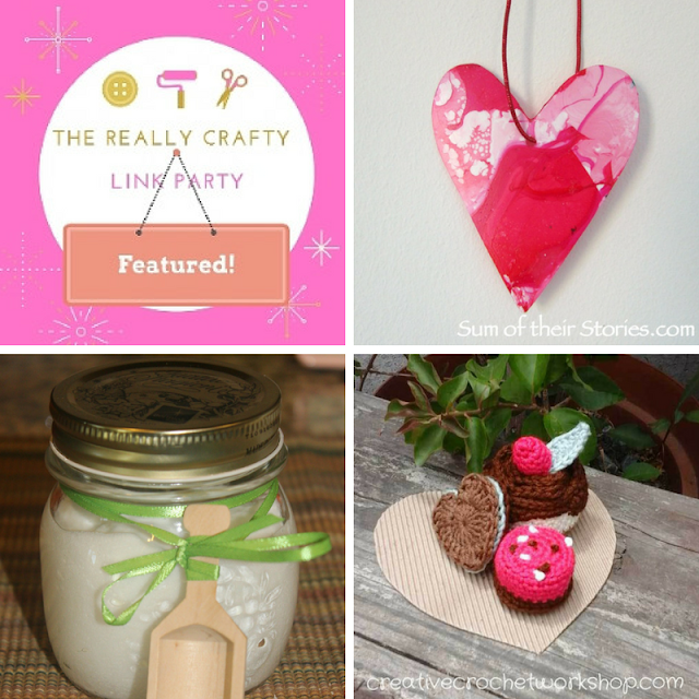 The Really Crafty Link Party #53 featured posts