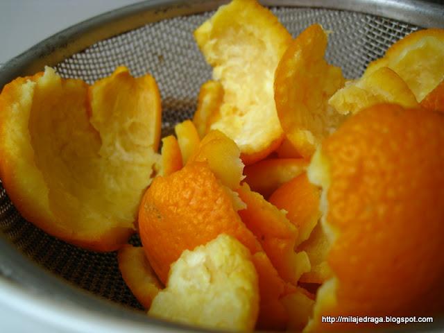 kandirana kora pomorandže