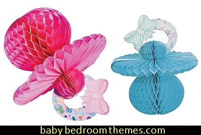Tissue Paper Baby Pacifier  baby shower decorations - baby shower party decorations - Creative baby shower gifts - baby shower party props -  baby shower balloon decorations - useful baby shower gifts - Baby Shower Planning  - gender reveal party - baby shower favors