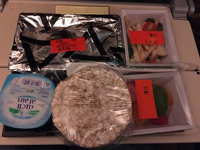 Photo showing Etihad Airways Gluten-Free Meal