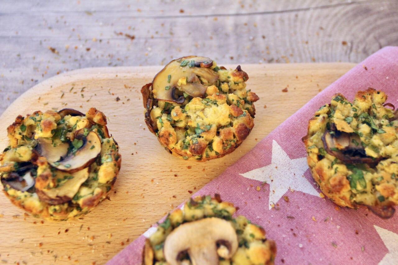 Rezept für pikante Knödel-Muffins