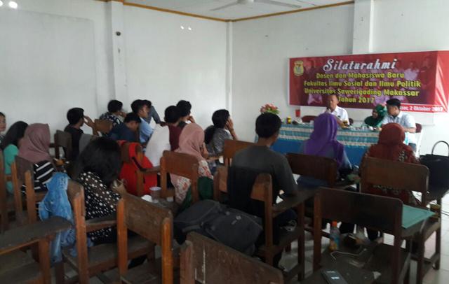 Maba Fisip UNSA Makassar Silaturahmi Dengan Dosen