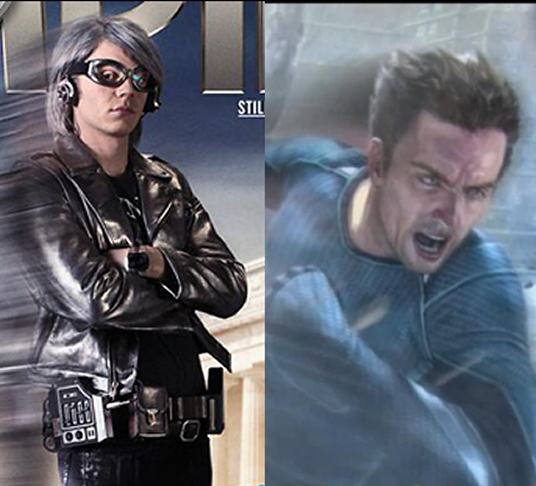 Days of Future Past s Quicksilver vs Age of Ultron s QuicksilverQuicksilver Marvel Evan Peters