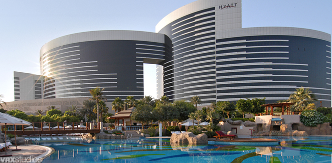 Grand Hyatt Dubai Is A Hotel In The Area Of Zabeel Uae Built 2003 And Owned By Ruler Located Just Minutes From Range