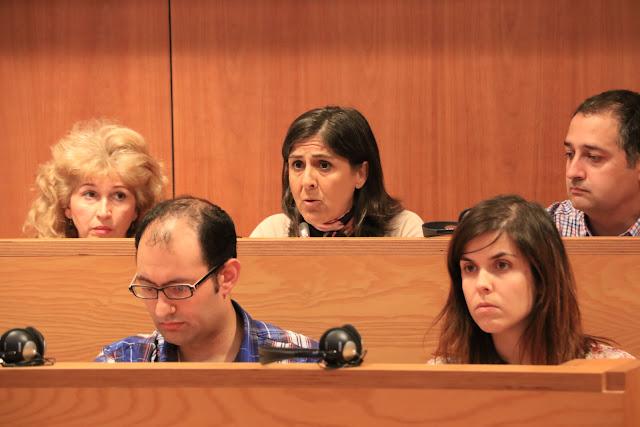 Intervención en el pleno de la concejala socialista Ana Belén Quijada