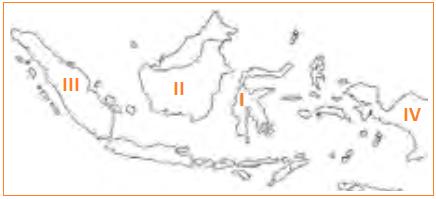 Peta lokasi Pemberontakan PRRI - Contoh Soal Materi Kondisi Indonesia Pascapengakuan Kedaulatan Pilihan Ganda