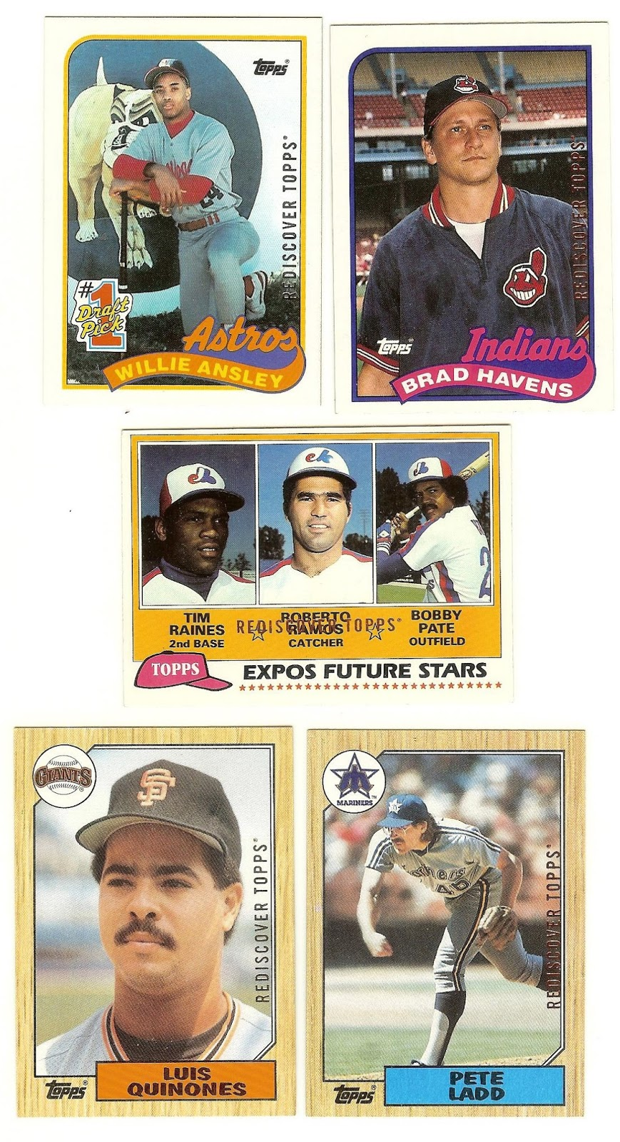 1988 Topps Give Me Your 2017 Quot Rediscover Topps Quot 1988 S