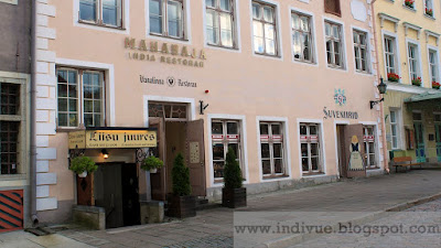Ravintola Maharaja Tallinnassa