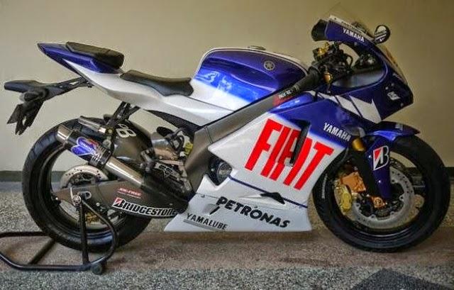 Modifikasi Motor Yamaha Vixion Fiat M1