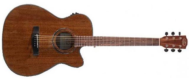 "Guitarra Electroacústica ""JM Forest"" SA26CEQ"