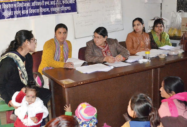 Organizing the Best Mother Award in NIT-2 Block