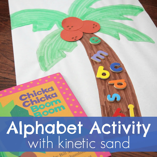 Toddler Approved!: Chicka Chicka Boom Boom Kinetic Sand ... - photo#12