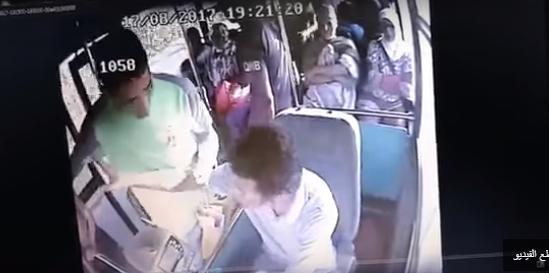 فيديو جديد يظهر اعتداء جديدا داخل حافلة في المغرب شاهدوا الفيديو