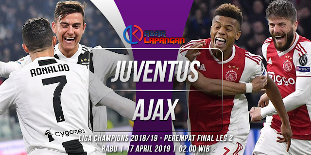 Prediksi Bola Juventus vs Ajax Liga Champions