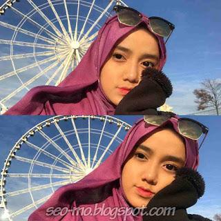 Foto Selfie Wirda Mansur Cantik dan Imut
