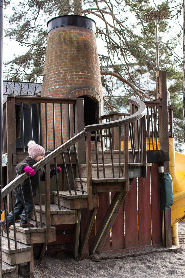 masa mainio, leikkipuisto, loma, Tukholma
