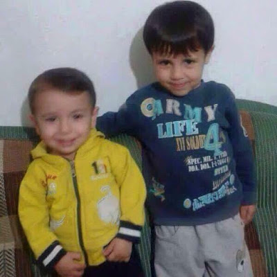 Aylan and Ghaleb Kurdi