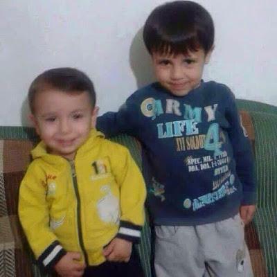 Aylan and Ghaleb Kurdi