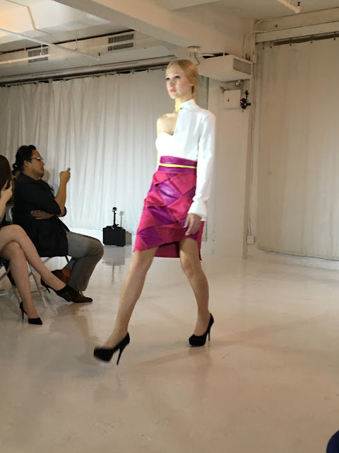 Marina Micanovic New york fashion week studio 450