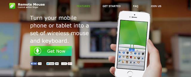 تحويل الهاتف إلى ماوس ، تحويل الآيباد إلى لوحة مفاتيح كيبورد ، تطبيق لتحويل الهاتف إلى ماوس كمبيوتر ، تطبيق لتحويل الآيباد لكيبورد كمبيوتر ، Remote Mouse
