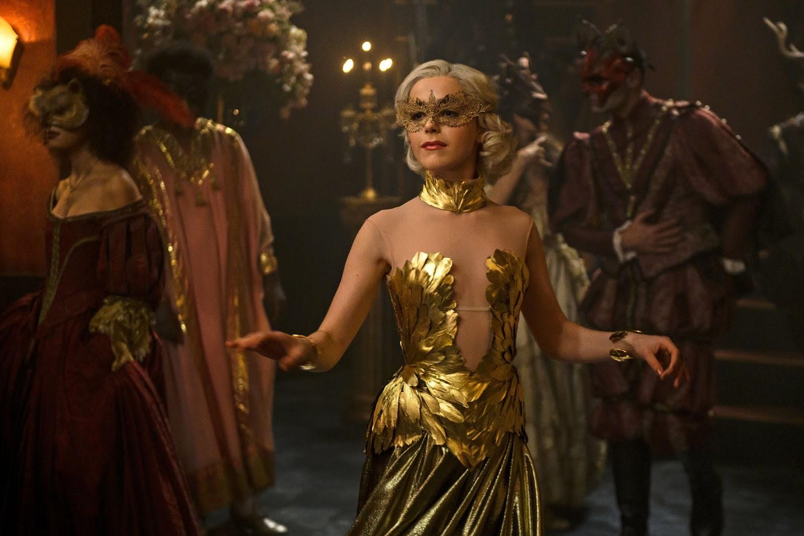 Sabrina bailando la segunda temporada de Chilling Adventures of Sabrina