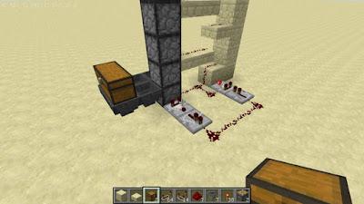 Minecraft アイテムエレベーター