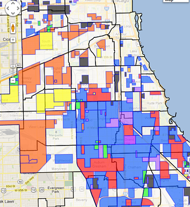 Map of the Week: Mapping the Gangs of Chicago-is there any value?