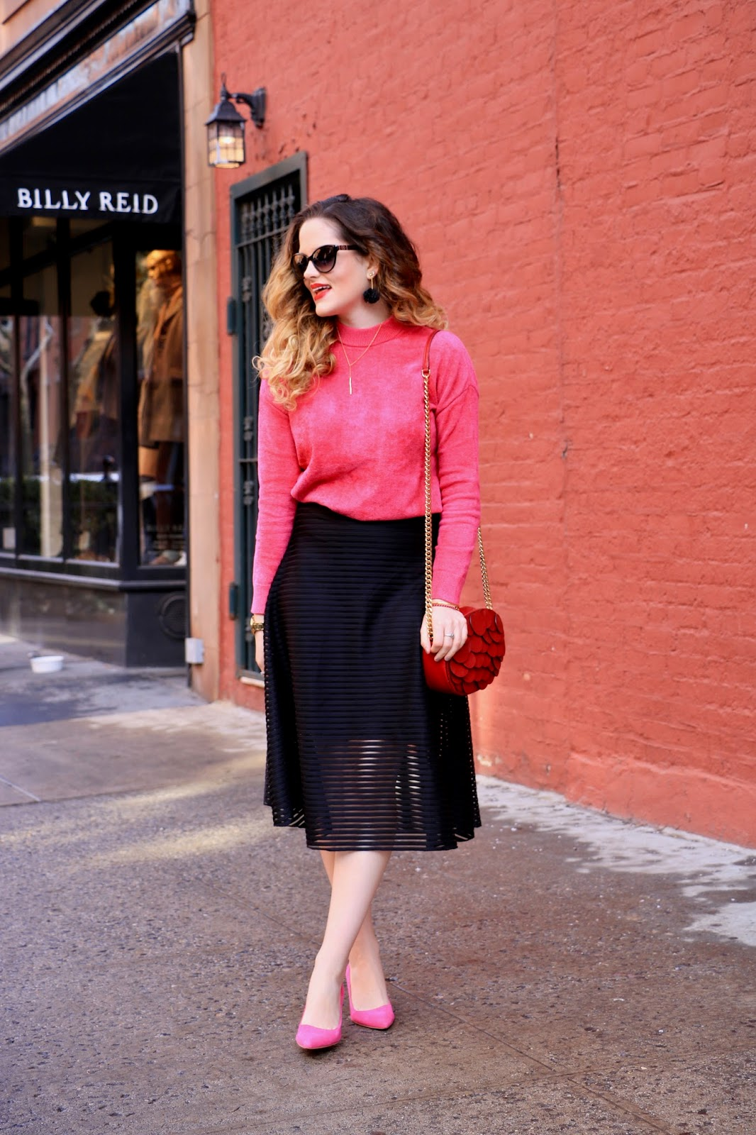 Nyc fashion blogger Kathleen Harper's Valentine's Day outfit ideas