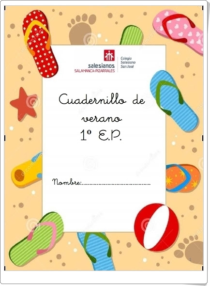 """""""Cuadernillo de Verano de 1º de Primaria"""" (Lengua y Matemáticas)"""