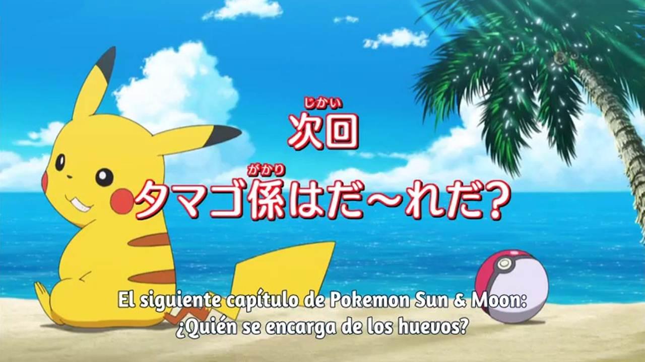Pokemon Sol y Luna cap 8 Sub Español