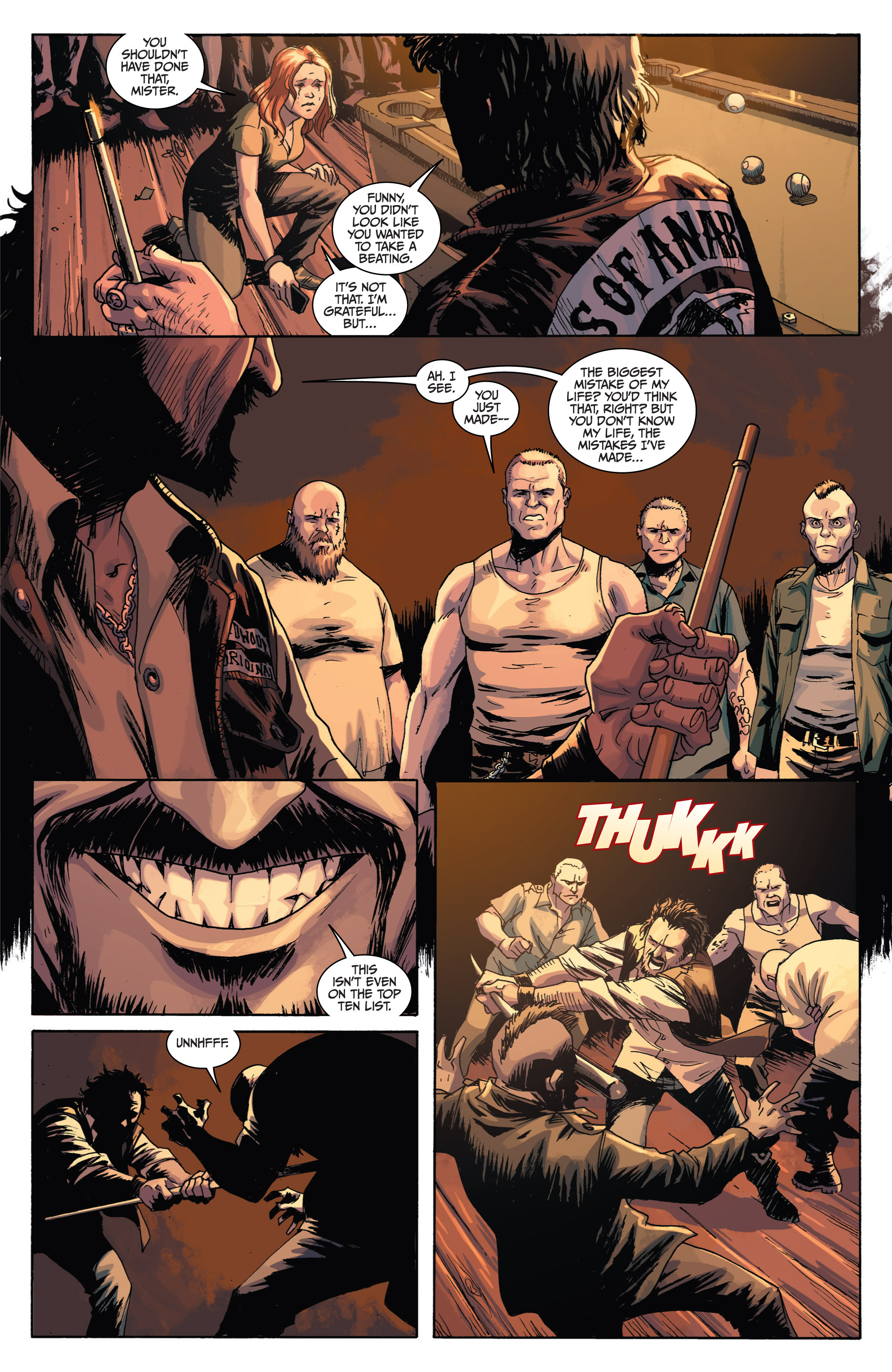 Read online Sons of Anarchy comic -  Issue #1 - 15